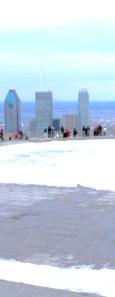 Sur le toit de Montréal